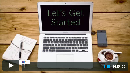 get started with a website builder