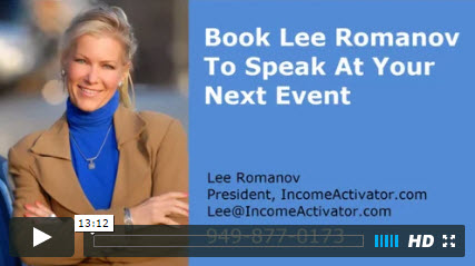 book lee romanov to speak
