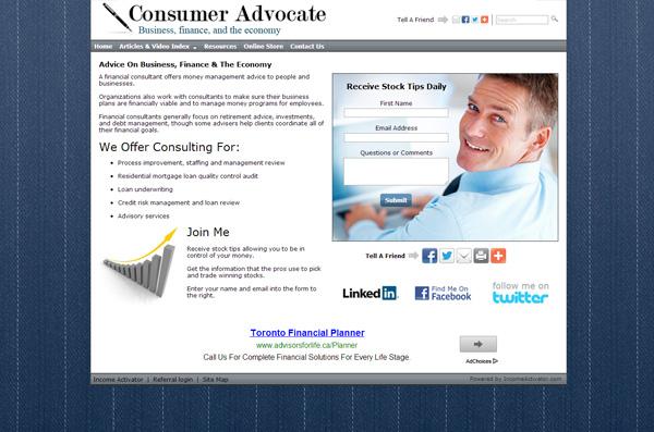 Home Business Website