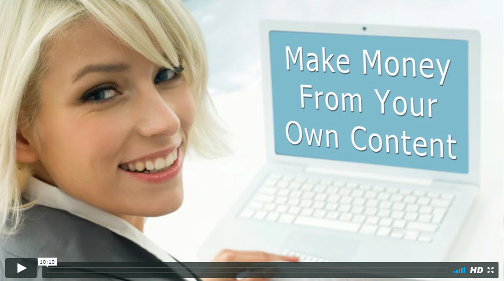 Make money from content pay per click leads