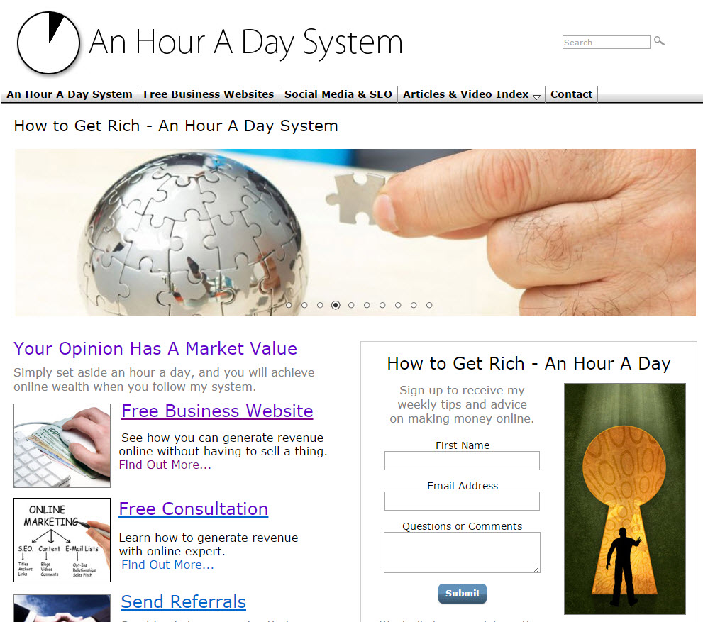 free website Internet Marketing