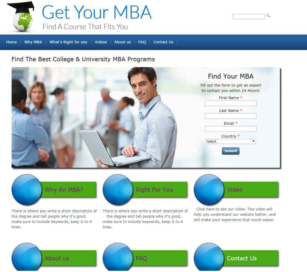 free website Online Courses Referrals