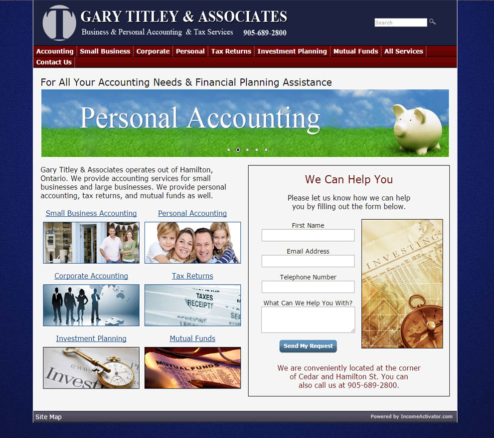 free website Accounting Website