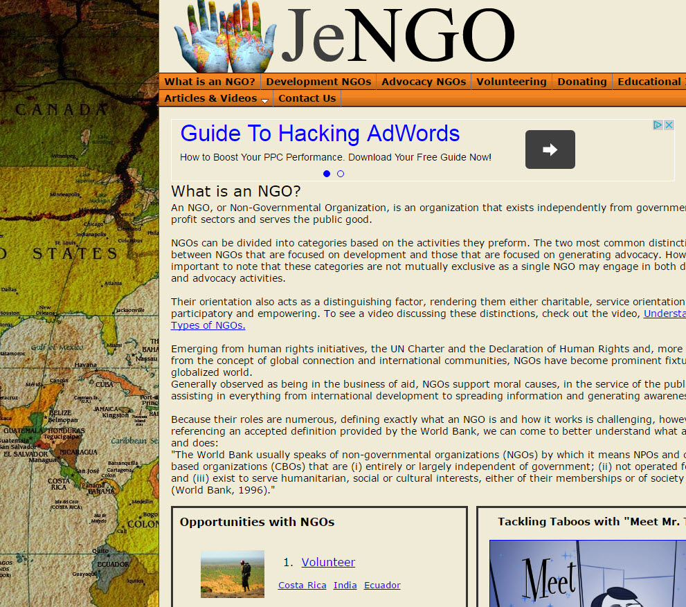 Free Website NJO Travel Guide