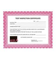 tesla certificate