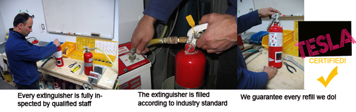 fire extinguisher refills